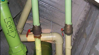 Composite repair for pipe corrosion and leaks