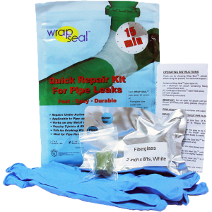 Pipe Repair Kit Wrap Seal Kit1 300x300 - 5 steps to repair an active pipe leaks