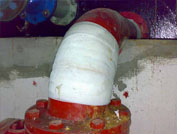 pipe corrosion 6 - Composite repair for pipe corrosion and leaks