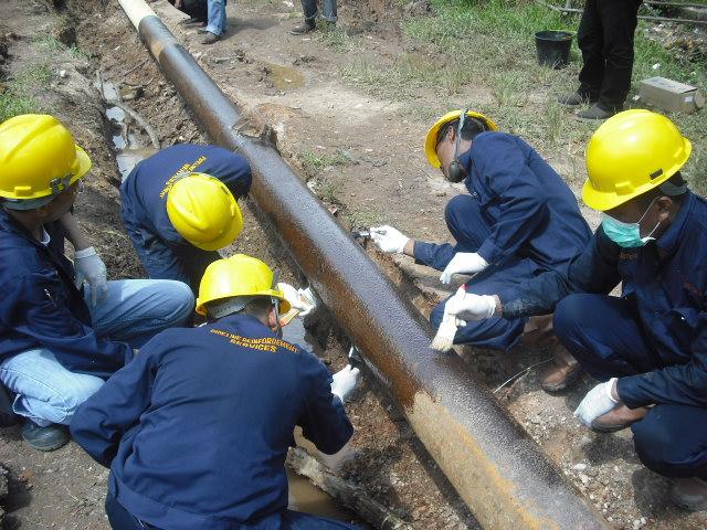 Composite Repair System - Pipe Repair