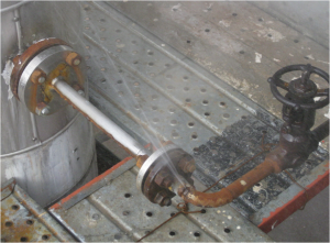 Pipe corrosion 4 300x221 - How to Repair Pipe Leaks Without Hot Works.