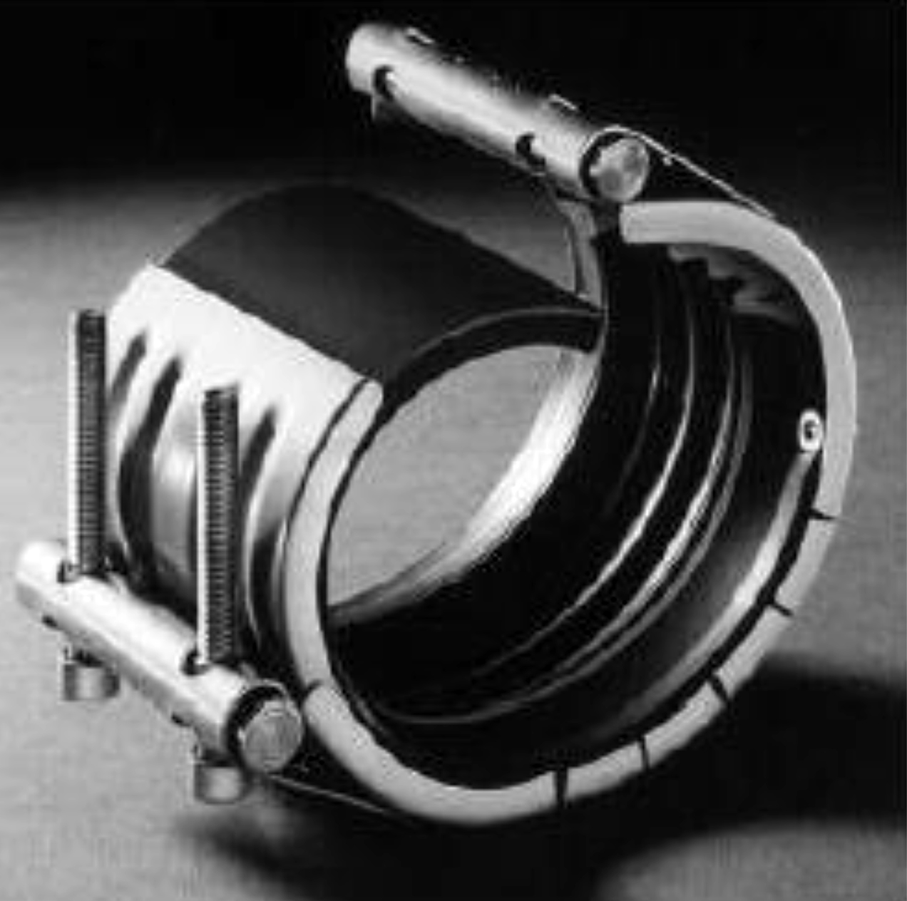 Different type of pipe leak repair clamps their