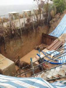 how to find leak in underground pipes