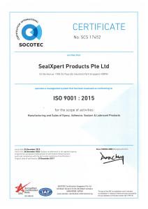 SealXpert SAC 212x300 - Quality Certificates (EN)