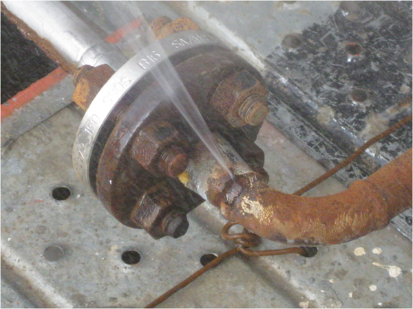 Steam Leak From Pipe : Chemical petrochemical sealxpert