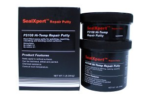 High temperature resistance repair putty for adhesion, filling, repair and rebuilding for exhaust system with excellent adhesion to cast iron
