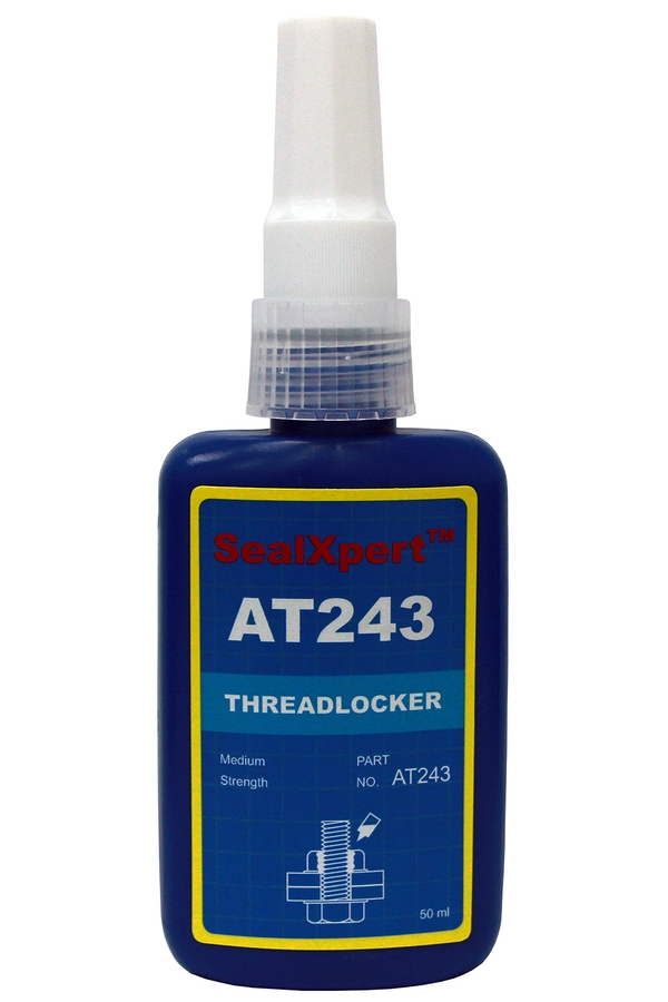 Thread locker Blue - removable anaerobic adhesive used for locking and sealing of screws, bolts, nuts, threaded fasteners
