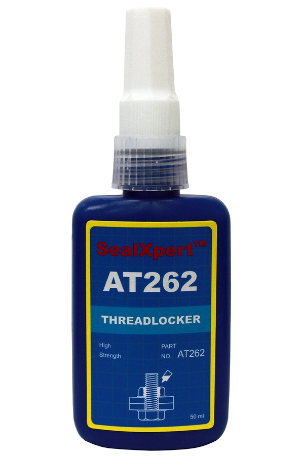 Thread locker Red - permanent anaerobic adhesive used for locking and sealing of screws, bolts, nuts, threaded fasteners