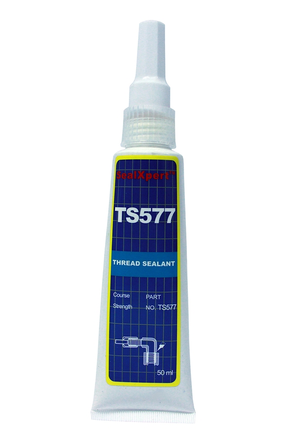 Medium-strength, general purpose yellow thread sealant for straight/straight and straight/taper threads and fittings. Fills the space between threaded parts and seals and locks at the same time