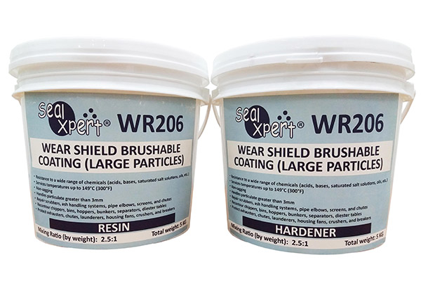 37590 WR206 Wear Shield Brushable Coating Large Particles - WEAR & CORROSION COATING (TC)