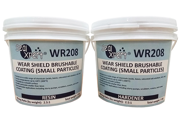 37592 WR208 Wear Shield Brushable Coating Small Particles - WEAR & CORROSION COATING (TC)