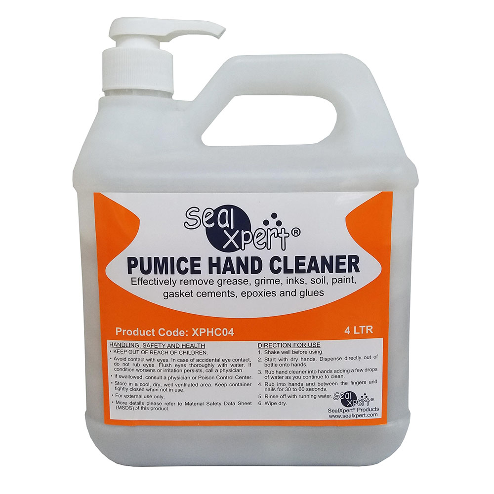 38645 XPHC04 Hand Cleaner with pump - CLEANING CHEMICALS