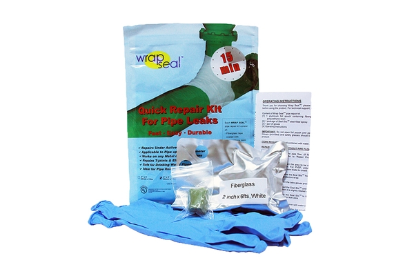 Wrap Seal emergency and quick pipe repair Kit for fixing and sealing leaking oil, gas and water pipes